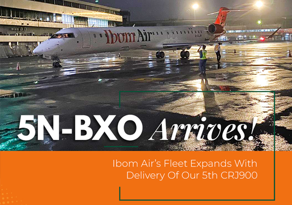 Ibom Air expands fleet with 5th Aircraft delivery