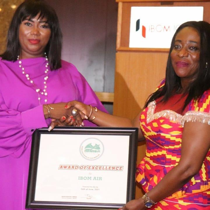 Ibom Air NATOP Award of Excellence