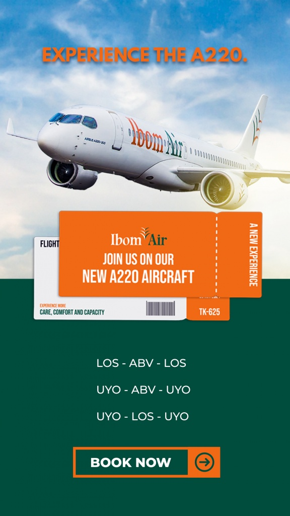 Experience the A220 with Ibom Air