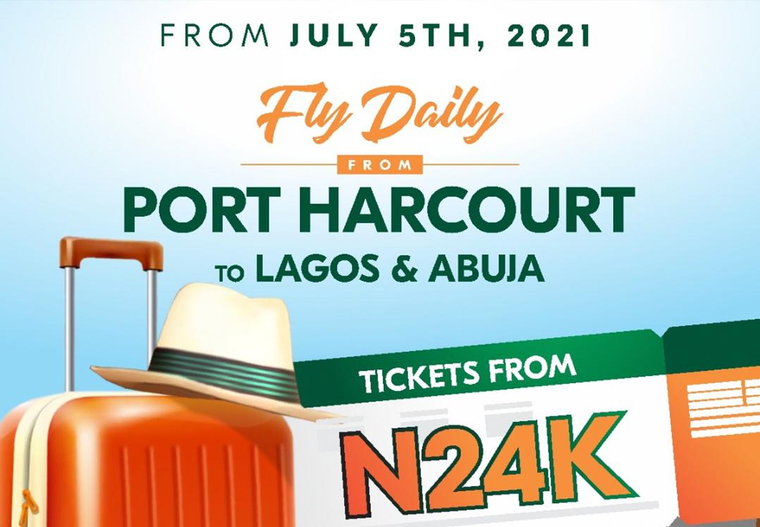 Iboom Air Port Harcourt Flights Starting July 5th 2021